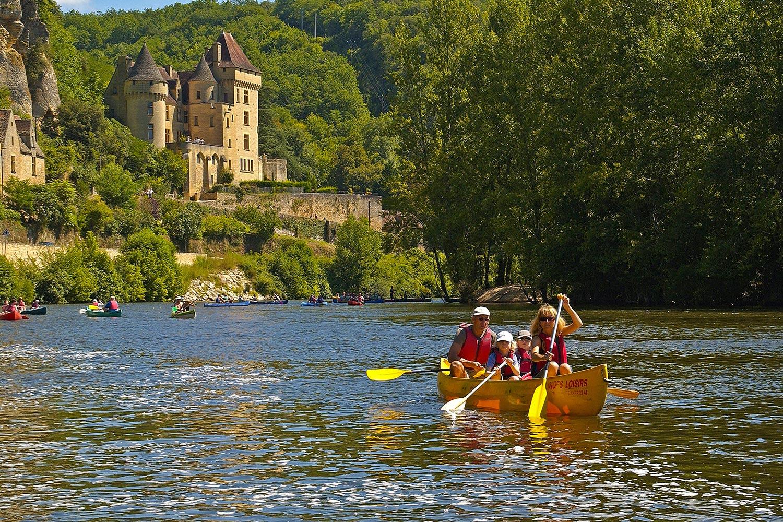Parcours canoë kayak CARSAC - BEYNAC